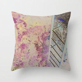 MEDITERRANEAN STAIRS Throw Pillow