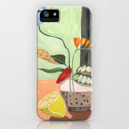 Ikebana iPhone Case