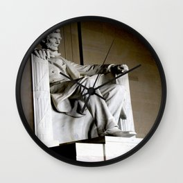 Mr. Lincoln Wall Clock