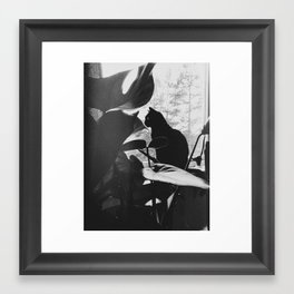 The art of seeing  Framed Art Print