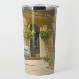 Corfu Street Scooter Travel Mug