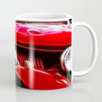 ford Mugs featuring Ford V8 by Shalisa Photography