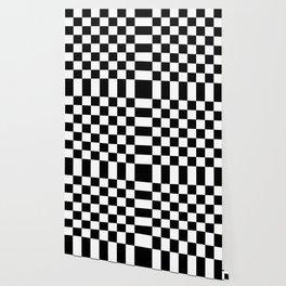 Checker (Black/White) Wallpaper