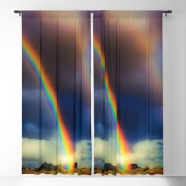 Blinded By Rainbows Blackout Curtain