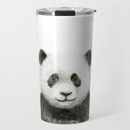 Baby Panda Watercolor Travel Mug