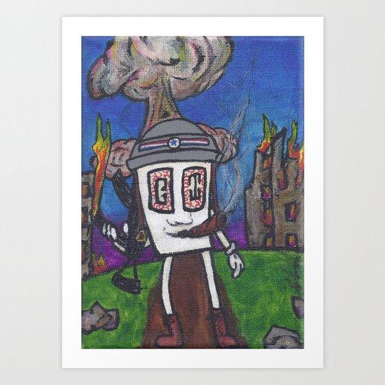GI Joe Art Print