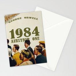 George Orwell 1984 steampunk Stationery Cards