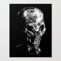 Silent Canvas Print