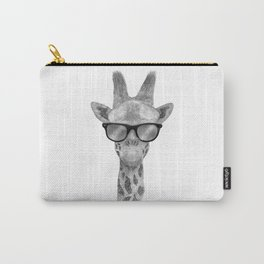 Hipster Giraffe Carry-All Pouch