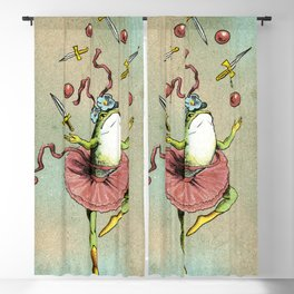 Circus Frog Blackout Curtain