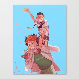oikawa and takeru Canvas Print
