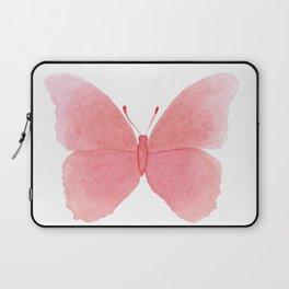 Watermelon pink butterfly Laptop Sleeve