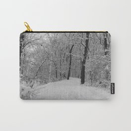 down the snowy path Carry-All Pouch