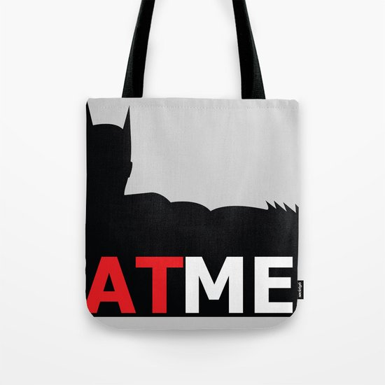 Bat Men Tote Bag
