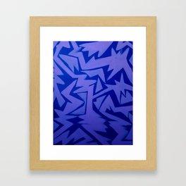 Electric Pop Framed Art Print
