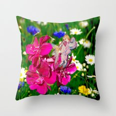 Embraced by Life Throw Pillow