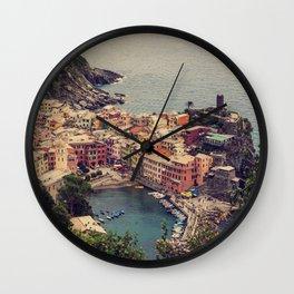 Vernazza, Cinque Terra, Italy Wall Clock