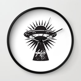 Aliens Know Everything Wall Clock