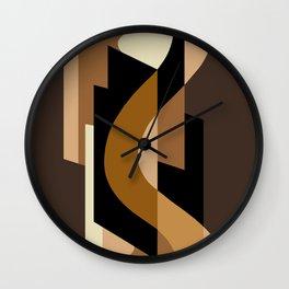 SUISSE - Art Deco Modern: CAFE JAVA Wall Clock