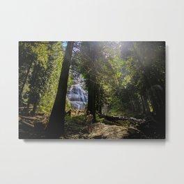 Falling into Light Metal Print