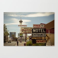 Strip on the Strip - Las Vegas Canvas Print