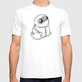 Mochi the pug begging T-shirt