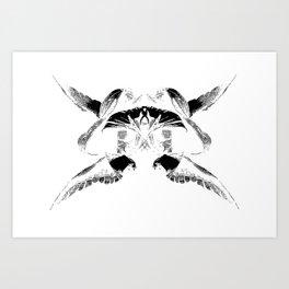 Rorschach  I Art Print
