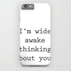 Wide Awake Print Slim Case iPhone 6s