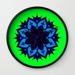 Kids Mandala Anahata Wall Clock