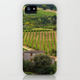 landscape in southern france 2 iPhone Case