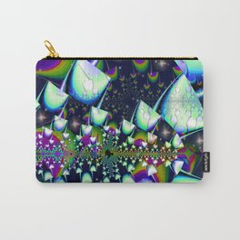 Rainbow psychedelic mushrooms Carry-All Pouch