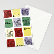 Classic Typewriter Stationery Cards