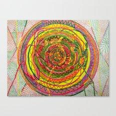ManDolla (Mandala)  Canvas Print