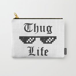 Thug life glasses print Carry-All Pouch