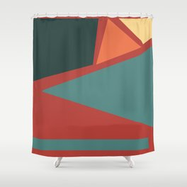 01 pattern Shower Curtain