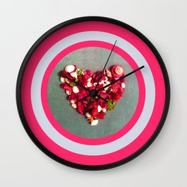 The Scent of Love Wall Clock