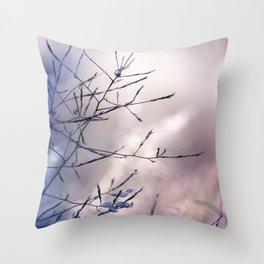 Ending day Throw Pillow
