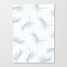 Light leaf pattern Canvas Print