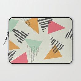 Geometric Mint Pattern Design 015 Laptop Sleeve