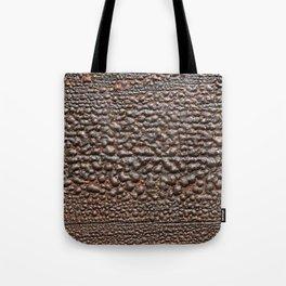 Wood Paint Bubbles Tote Bag