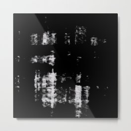 Black & White Abstract Series ~ 3 Metal Print