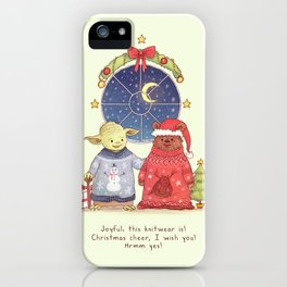 Hrm, Christmas Jumpers, yes! iPhone Case