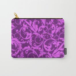 Vintage Swirls Winterberry Orchid Purple Carry-All Pouch
