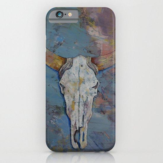 Steer Skull iPhone & iPod Case