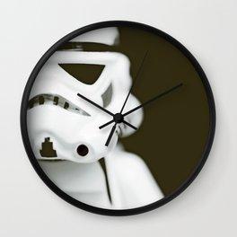 trooper portrait Wall Clock