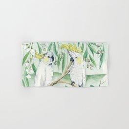 Saffron Cockatoo Hand & Bath Towel