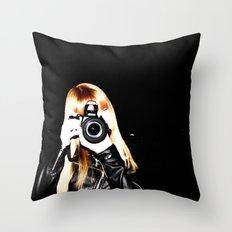 Little Bit Meta?  Throw Pillow