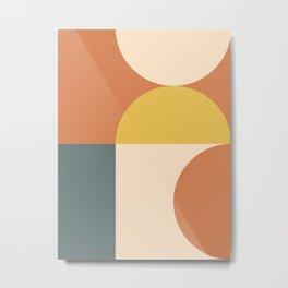 Abstract Geometric 04 Metal Print