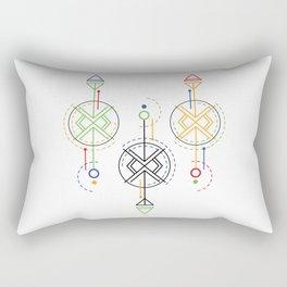 geometrical optics Rectangular Pillow