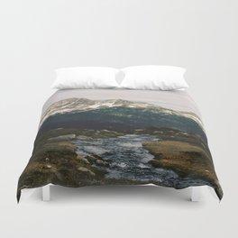 Whistler Mountain View, British Columbia Duvet Cover